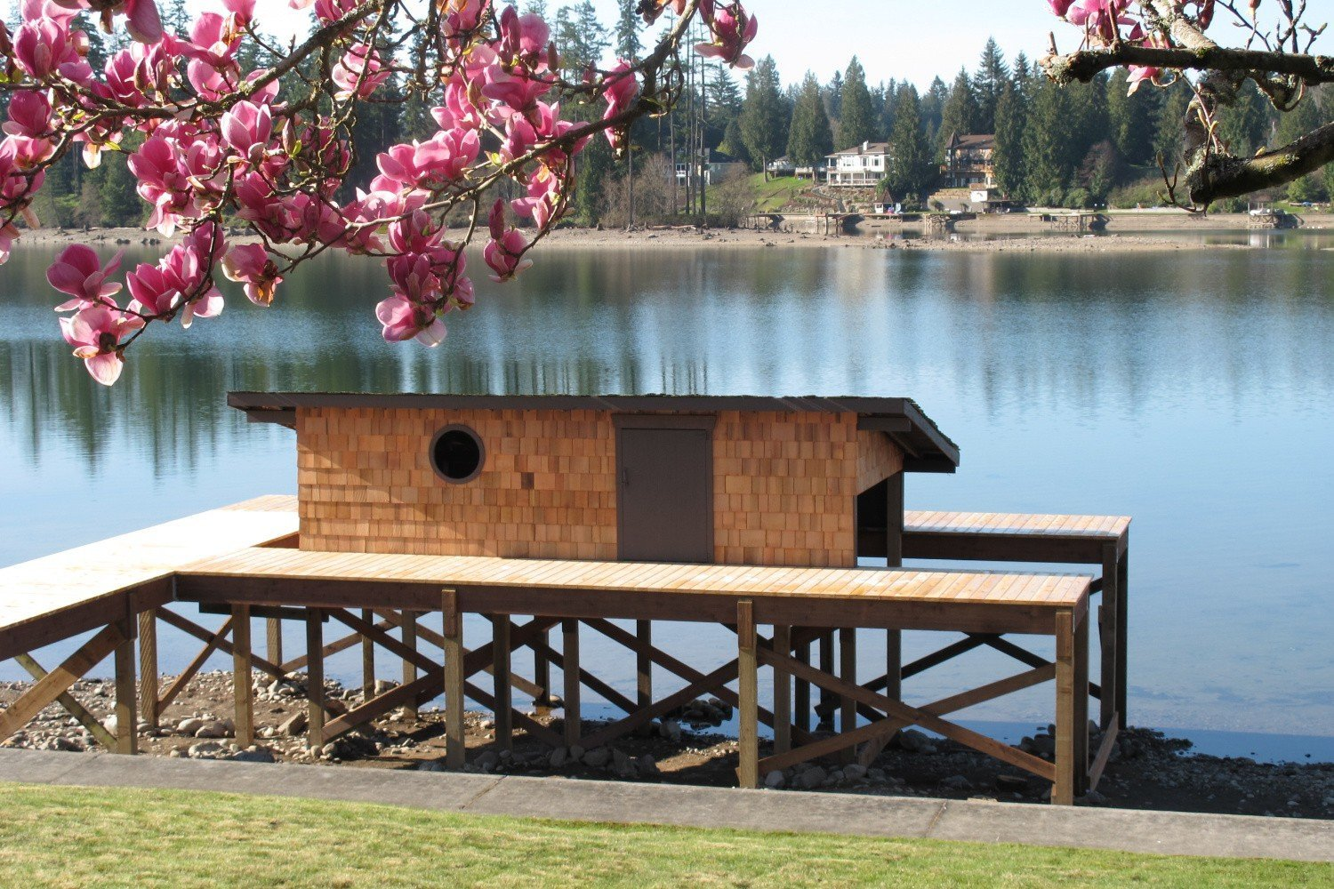 Lake Tapps Boat House Remodel - After Home Builder Remodel Puyallup WA | Mike Schwartz Construction