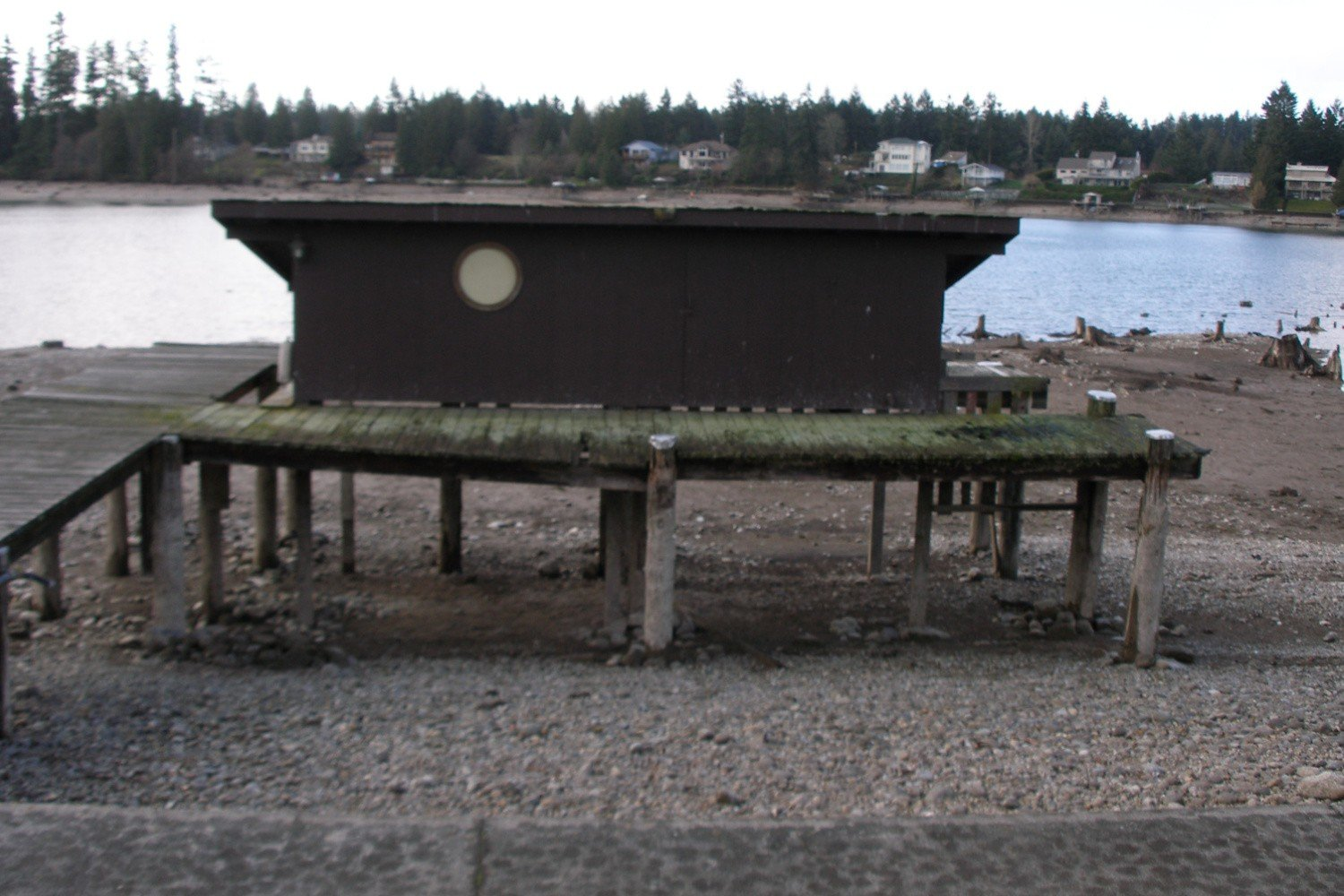 Lake Tapps Boat House Remodel - Before Home Builder Remodel Puyallup WA | Mike Schwartz Construction