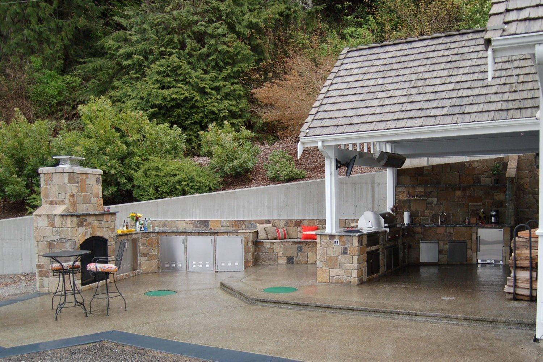 Outdoor Patio Remodel Home Builder Remodel Puyallup WA | Mike Schwartz Construction