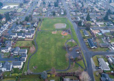 Aerial Peach Park