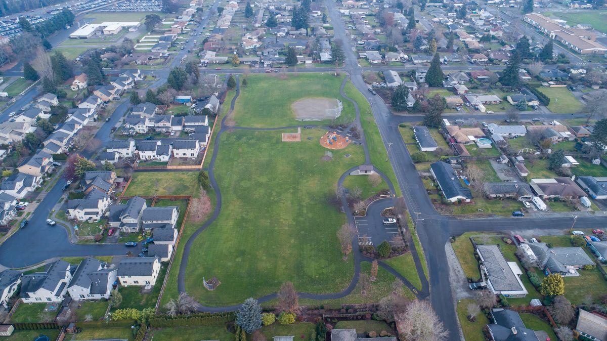 Aerial Peach Park 1